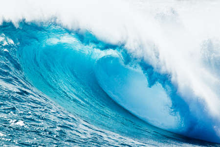 Blue Ocean Wave Stock Photo - 11928232