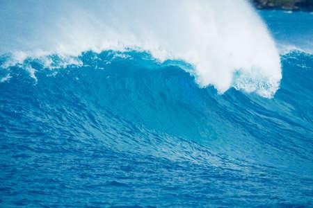northshore: Beautiful Blue Ocean Wave