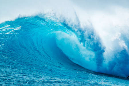 pacific ocean: Beautiful Blue Ocean Wave