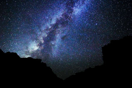 Stars in the Night Sky, Milky Way Galaxy photo