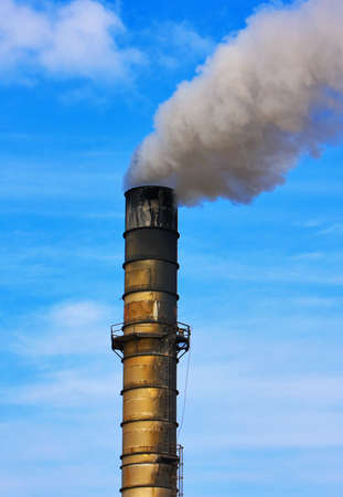 Factory Smoke Stack Stock Photo - 11928682