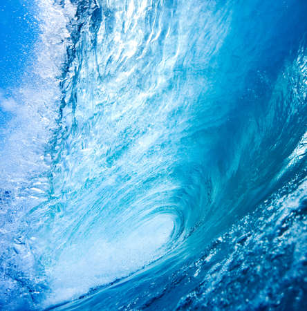 Blue Ocean Wave Stock Photo - 11928442