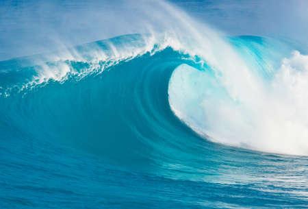 water wave: Blue Ocean Wave