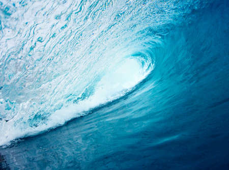 Blue Ocean Wave Stock Photo - 11928491