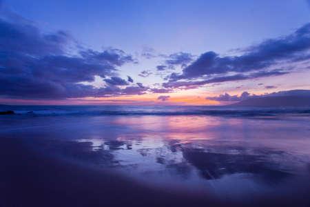 evening glow: Amazing Sunset in Hawaii