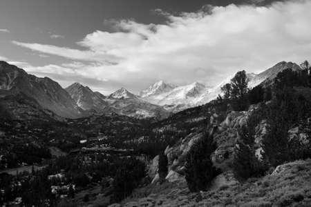 Amazing Landscape, Black and White Image