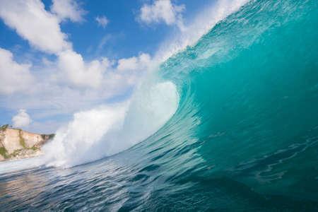 northshore: Ocean Wave Stock Photo