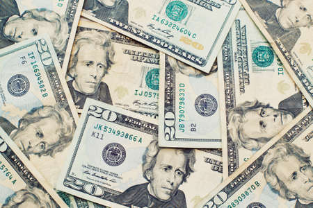 Heap of Dollars; Money Background Stock Photo - 13045638