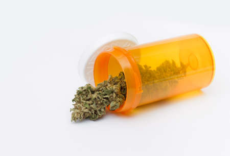 alternative medicine: Medical Marijuana Concept