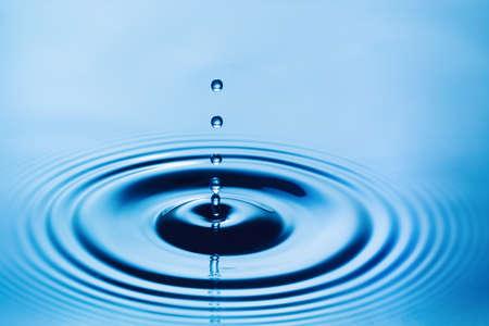 flowing water: Water Drop Stock Photo