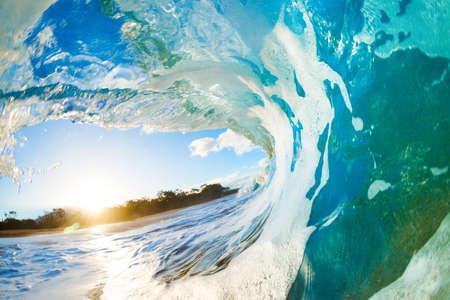 surfing wave: Ocean Wave Stock Photo