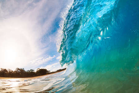 watersports: Ocean Wave Stock Photo