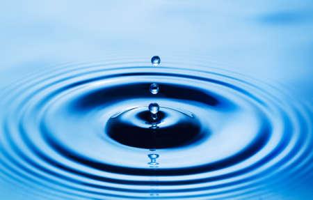 Water Drop, Close Up Macro View