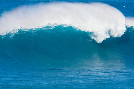 Giant beauitful Blue Ocean Wave Stockfoto
