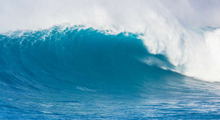 Giant Beauitful Blue Ocean Wave Stock Photo - 14441815