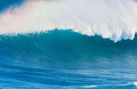 northshore: Giant Beauitful Blue Ocean Wave