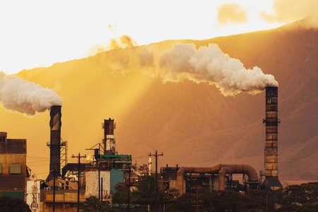 Power Plant Sale polluantes carbone dans l'atmosphère