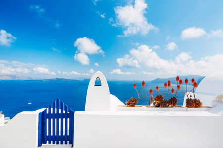 greek islands: Santorini Island, Greece Editorial