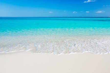 white sand beach: Tropical White Sand Beach and Sea