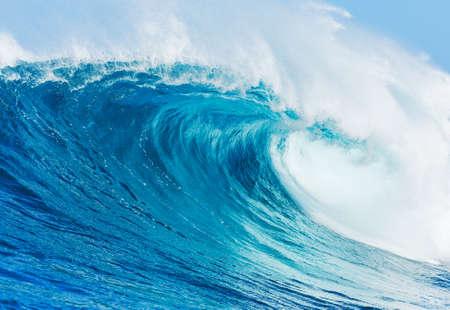 ocean: Blue Ocean Wave