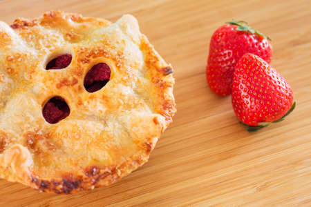Berry Pie, Delicious Freshly Baked Gourmet Pie Stock Photo - 20660403