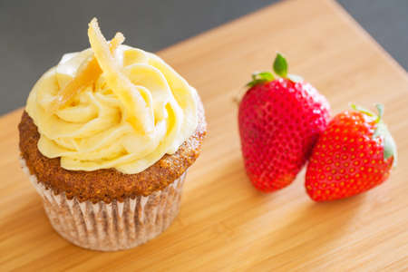 Delicious Beautiful Cupcake photo