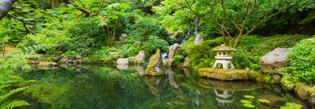 Zen japonés hermoso Jardín Foto de archivo - 21559186