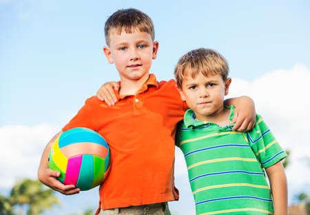 Best Friends, Happy Kids, Friendship Concept Stock Photo - 22168318