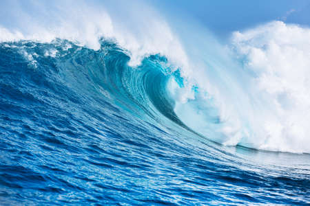 pacific ocean: Large Powerful Ocean Wave