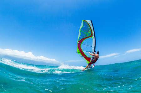 sail board: Windsurfing, Fun in the ocean, Extreme Sport