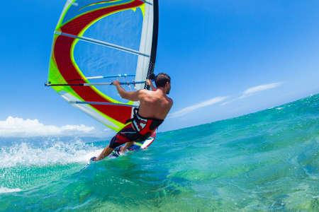 kite surfing: Windsurfing, Fun in the ocean, Extreme Sport
