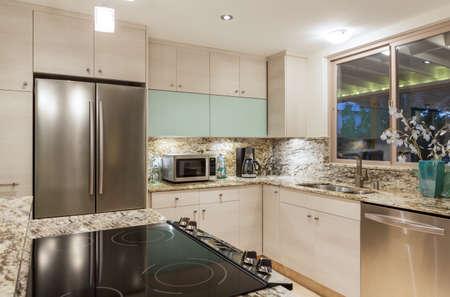 Modern Contemporary Kitchen Home Interior photo