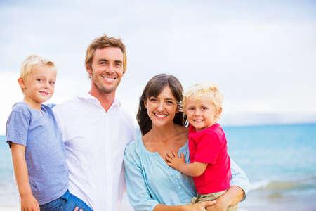 happy healthy woman: Family Stock Photo