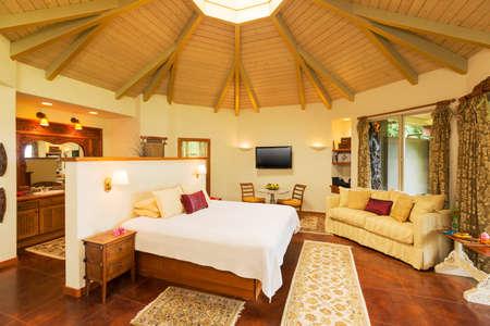 bedroom: Romantic Cozy Bedroom with Hardwood Floors. Home Interior Design
