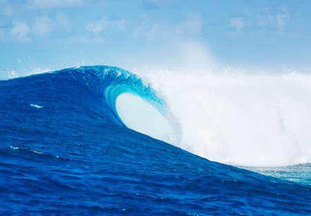 Blue Ocean Wave Epic Surf Archivio Fotografico - 40148029