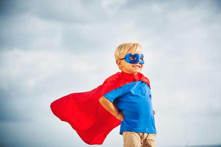 Superhéroe Kid Foto de archivo - 40268428