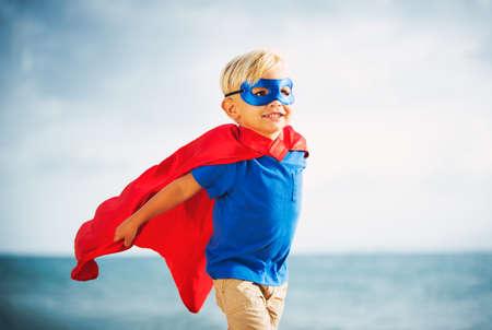 LIDER: Superh�roe Kid Foto de archivo