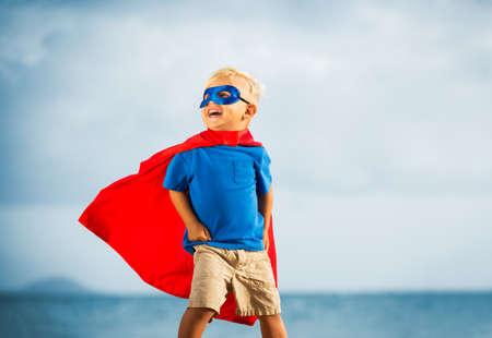 Superhéroe Kid Foto de archivo - 40312318