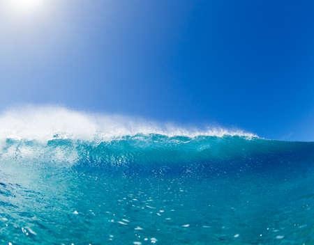 Bleu Ocean Wave