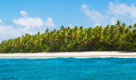 untouched: Tropical Island Atoll, Nature Untouched Paradise
