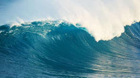 ocean wave: Powerful Blue Ocean Wave