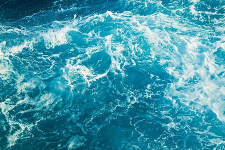 Streszczenie tekstury wody Oceanu