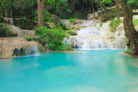 Erawan waterfall Thailand photo
