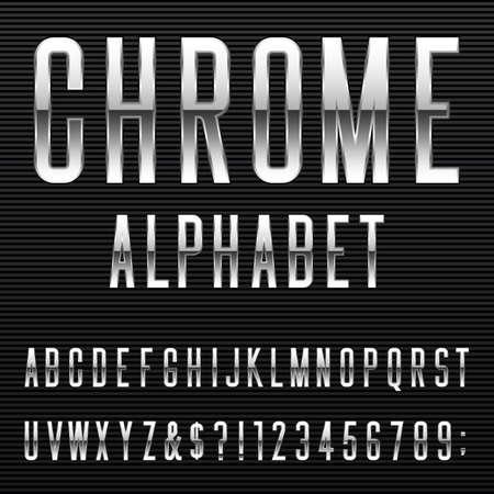 알파벳 글꼴. 일러스트