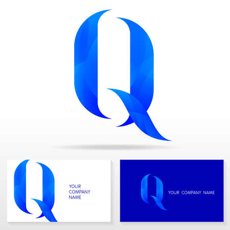 logo marketing: Letter Q logo icon design template elements Illustration. Letter Q logo icon design vector sign. Business card templates. Illustration