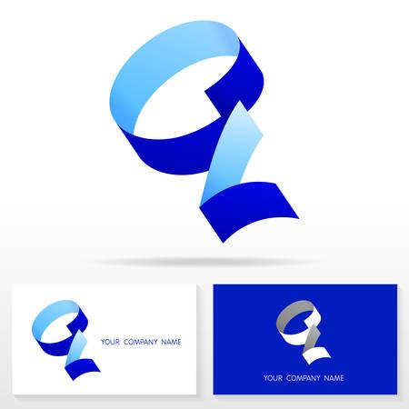 ides: Letter Q logo icon design template elements Illustration. Letter S logo icon design vector sign. Business card templates.