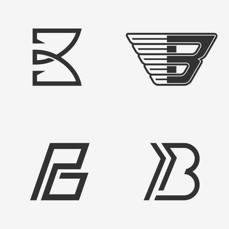 letter b: The set of letter B