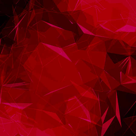 chaotic: Abstract polygonal low poly background. Polygonal futuristic vector geometric background. Easy change color.