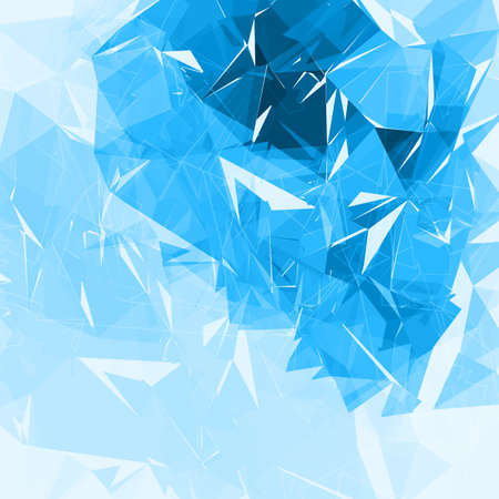 Geometrische veelhoekige achtergrond. Abstracte lage poly futuristische vectorachtergrond. Eenvoudig van kleur te veranderen. Vector Illustratie