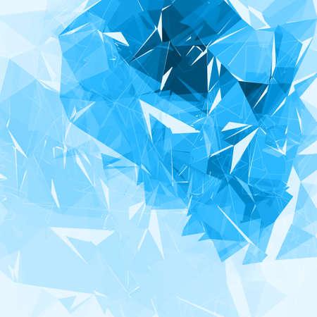 fondos azules: poligonal fondo geométrico. baja poli futurista vector de fondo abstracto. Fácil cambio de color. Vectores